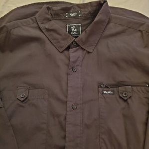 LRG Woven Button Up (Long Sleeves)